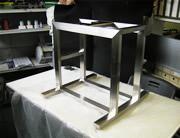 研究器具設置架台:写真