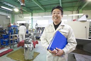 株式会社今野製作所 代表取締役 今野浩好:工場内での写真